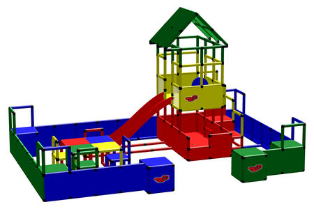 Playcenter Microscopic Mega Playcenters | QUADRO MDB
